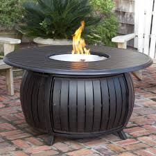 Gas Patio Table Herbal Gas Pit Table Wine Barrel Gas Fireplace Pit And Patio