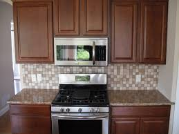 Elegant Kitchen Backsplash Furniture Elegant Kitchen Design With Cabinets Plus Santa Cecilia