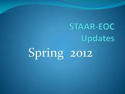 ppt staar eoc updates powerpoint presentation id 772118