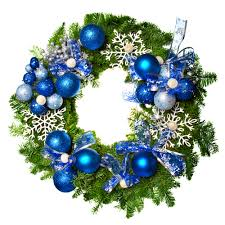 this decorative christmas wreath could be made by using one of our