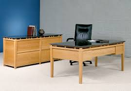 Office Desk Credenza Executive Office Furniture Cherry Wood And Granite Desk