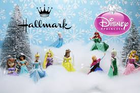 hallmark disney princess tree ornament collection