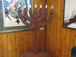 wooden menorah file pikiwiki israel 31661 wooden carved menorah by batia