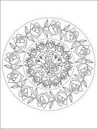 free printable mandala coloring 100