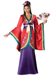 geisha oriental chinese japanese women halloween costume