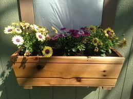 how to build a window flower box cedar window box youtube