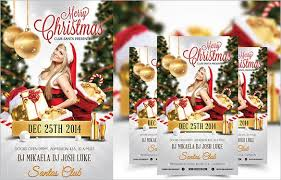 christmas flyer template free download 2017 best business template