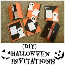 homemade halloween party invitation ideas easy diy halloween party invitation the shopping mamathe