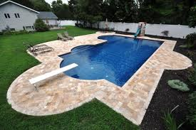 terrific deck mounted pool ladders with swimming pool red brick
