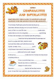 comparative and superlative adjectives worksheet by aliciapc