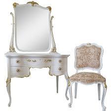 Antique White Makeup Vanity Antique White Vanity Mirror Antique Furniture