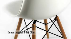 furnisho eames inspired dsw eiffel chair modern classic