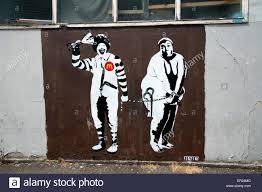 Ronald Mcdonald Phone Meme - london old street art by meme ronald macdonald and overweight