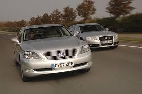 lexus ls vs audi a8 lexus ls600h vs audi a8 auto express