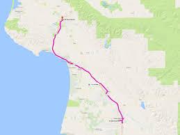 Cambria Ca Map Route 10 San Luis Obispo To Santa Maria San Luis Obispo Regional