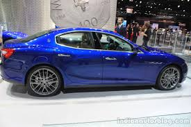 maserati ghibli blue 2015 maserati ghibli side at the 2014 los angeles auto show