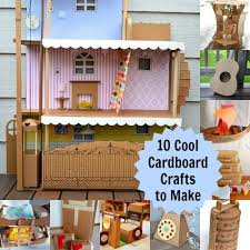 Cool Crafts To Make For Your Room - 10 cardboard projects that kids will love
