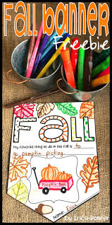fall freebie fall banner print these pinterest