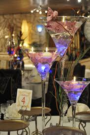 image result for martini glass centerpiece ideas decorations