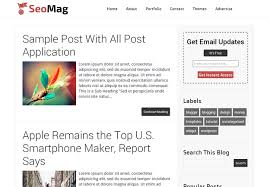 seo mag blogger template free download the cool blogger templates