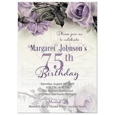 simple birthday invitation wording 16 75th birthday invitations unique ideas birthday party