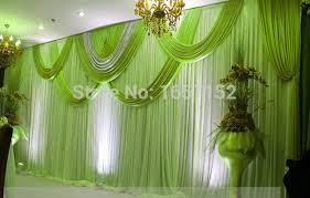 wedding backdrop on stage green 10ft 20ft wedding backdrop stage backdrop with detachable