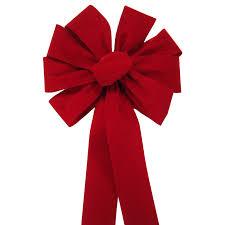velvet bows bows outdoor berry outdoor velvet bow 10 inch