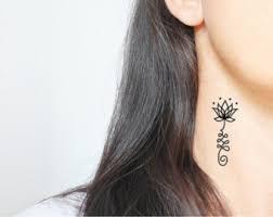 boho tattoo etsy