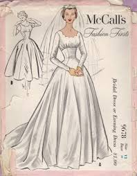 vintage wedding dress patterns your dress made from a vintage pattern bridal dress vintage