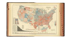 Red And Blue State Map by This Is The Very First Electoral Map Dividing The U S Into Red