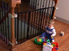 Baby Gate For Stairs With Banister Best Baby Gates 2017 Ultimate Buyer U0027s Guide U0026 Reviews
