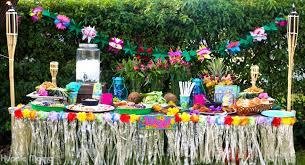 luau party luau party tablescape our potluck family