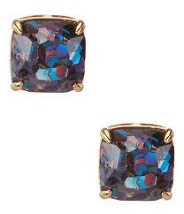 glitter stud earrings accessories jewelry earrings stud dillards