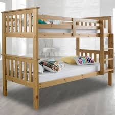 Tesco Bunk Bed Buy Happy Beds Atlantis Wood Bunk Bed With 2 Open Coil