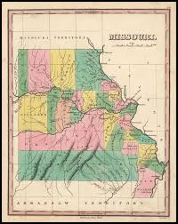 Louisiana Territory Map by Antique Prints Blog December 2011