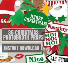 Christmas Photo Booth Props Christmas Party U2013 Pixels And Pine Printables
