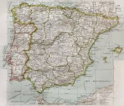 Spain Portugal Map by Map Spain