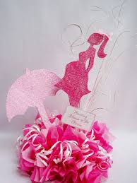 Centerpieces For Baby Shower by Baby Shower Pregnant Woman Umbrella I Could So Make This11