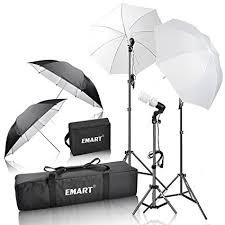 cheap umbrella lighting kit amazon com emart 600w photography photo video portrait studio day
