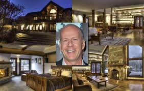 Movie Stars Homes by Bruce Willis Photos Inside Celebrity Homes Soldier Mountain