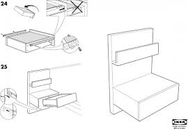 ikea malm bedside table ikea malm nightstand instructions 4 malm bedside table 20x16