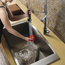 vigo kitchen faucets vigo industries vigo chrome pull spray kitchen faucet