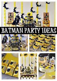 batman party ideas batman themed birthday party pretty my party