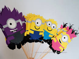 minions party supplies minion centerpieces minions birthday party decorations despicable me