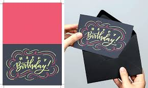 create a birthday card create a lettered birthday card in illustrator every tuesday