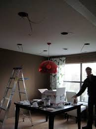 Kitchen Can Lights Installing Can Lights In Our Dining Room Welcome To Heardmont