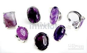 amethyst stone rings images 2018 jewelry big amethyst gemstone rings nature stone rings silver jpg