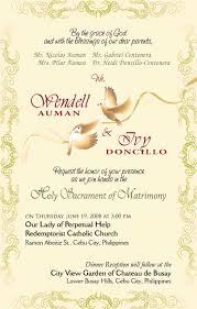 sle wedding programs outline wedding invitation sle letter style by modernstork