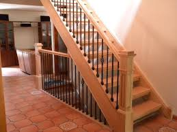 Staining Stair Banister 14 Best Entry Stair Rail Ideas Images On Pinterest Stairs