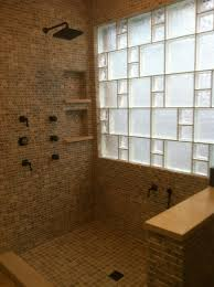 glass block bathroom ideas fabulous glass block bathroom ideas with images about bathrooms with